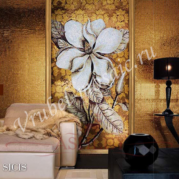 Декоративное панно на стену из мозаики своими руками